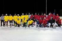 V derby Rýmařovské ligy byli na zimním stadionu v Bruntále úspěšní hokejisté favorizovaných Hazardérů.