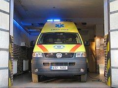 Výjezdový vůz záchranné služby bude pacientům k dispozici v nové pobočce ve Vrbně pod Pradědem již od 1. ledna následujícího roku.