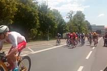 Závod míru prosvištěl Bruntálem.