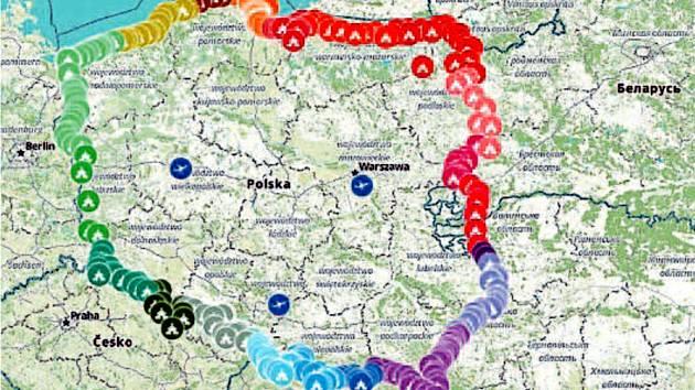 Místa, kde se v sobotu setkají polští katolíci k modlitbám proti islámu, jsou podél celé hranice, tedy i v pohraničí na Krnovsku. Svolavatelé věří, že se do akce zapojí více než milion věřících.