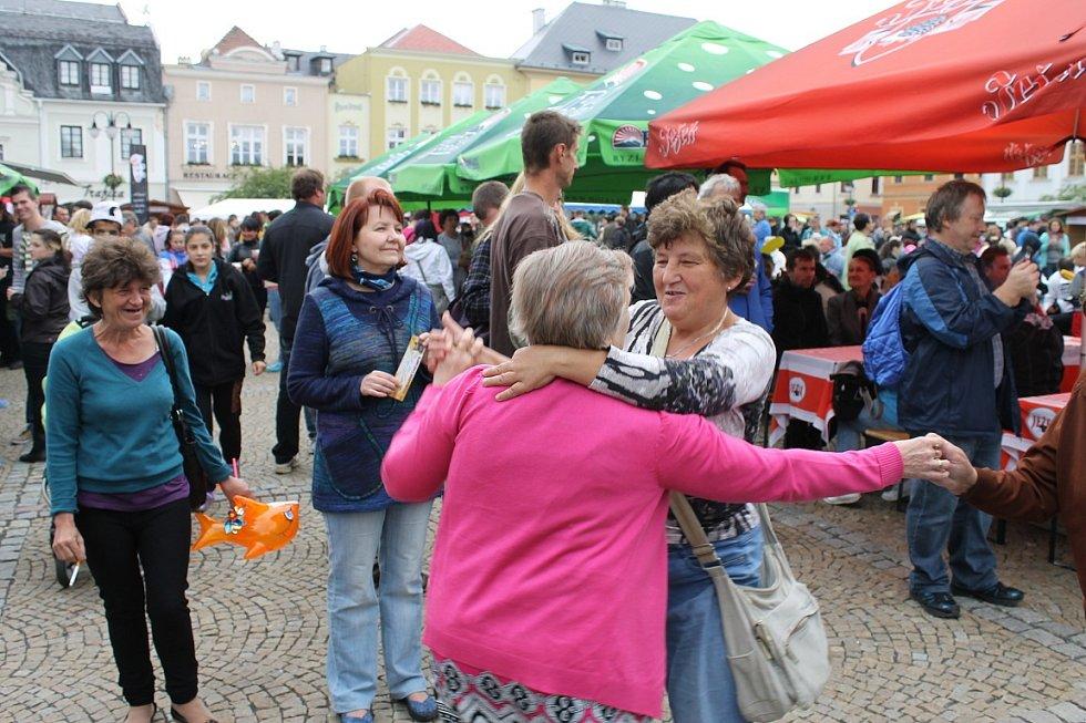 Dny města Bruntálu - sobotní oslavy.