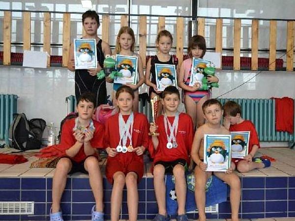 Bruntálským plavcům se na plaveckých závodech v Brně dařilo.