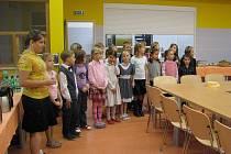 V pátečních odpoledních hodinách se uskutečnilo slavnostní otevření nové zátorské školní jídelny na místní základní škole.