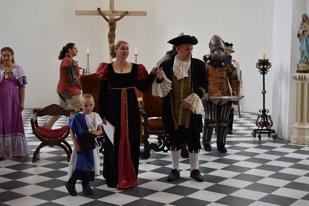 Zámek ve Slezských Rudolticích přivítal mladé chovatele, kteří soutěžili Opohár princezny Sophie.