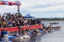 Na Balatonu v Maďarsku se odehrálo Mistrovství Evropy v dálkovém plavání.