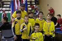 Úspěšní zápasníci Lokomotivy Krnov prokázali v Maďarsku výbornou formu. Přivezli čtyři cenné kovy, pátý utekl jen o vlásek.
