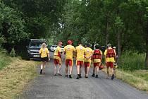 Základna vodní záchranné služby funguje v  Mezině od roku 2004. Návštěvu z Deníku provázel  Miloslav Střelec, předseda Vodní záchranné služby Českého červeného kříže Bruntál - Slezská Harta.
