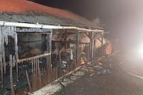 Stolařská dílna hořela v noci na neděli ve Městě Albrechticích na Bruntálsku.