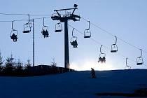 Skiareál Branná si na nedostatek lyžařů nemůže stěžovat