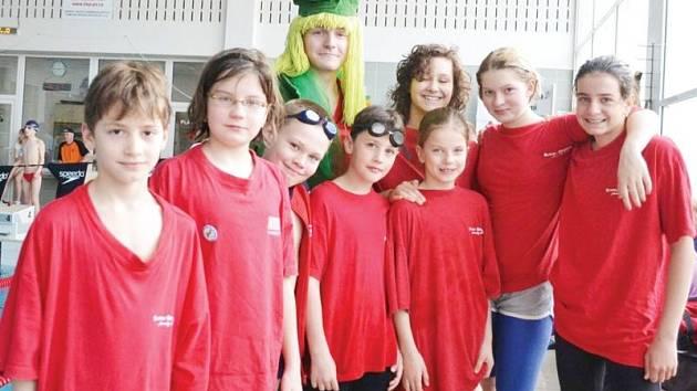 Mladým bruntálským plavcům se v Prostějově opět dařilo.