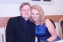 Denisa Dimiděnková a Roman Kočan z Dvorců u Bruntálu