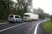 K tragické nehodě došlo v pátek 1. září dopoledne v Bílčicích.