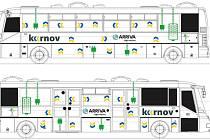 První elektrobus se v Krnově představí ve středu. Cestující ho poznají podle tohoto označení.