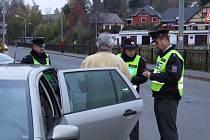 Policejní kontroly neminou automobilisty z Bruntálska a Krnovska ani v následujících dnech.
