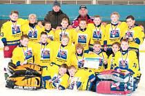Mladí hokejisté Krnova a Horního Benešova získali na mezinárodním turnaji stříbro.