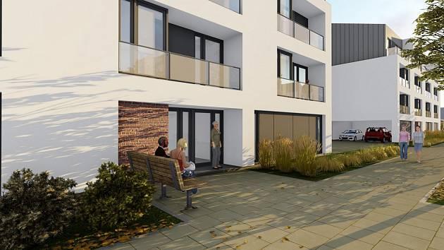 Rezidenční lokalita Nová kasárna po dokončení nabídne přes stovku moderních bytů různých velikostí k nájmu i k prodeji. Také kanceláře, restauraci, komerční prostory, parkovou zeleň a hřiště.