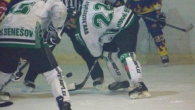 Hokejisté Horního Benešova.