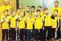 Krnovští zápasníci si vedli v prvním kole slovenské žákovské ligy výborně a domů si přivezli pěkné 2. místo.