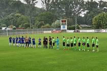 Lídr fotbalového krajského přeboru hostil v 7. kole Hlubinu a potvrdil roli favorita. Krnov domácí zápas vyhrál 2:0.