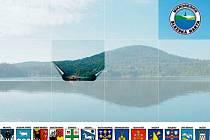 Puzzle s motivem Velkého Roudného, které budou sbírat v sobotu cyklovýletníci okolo přehrady, ponese znaky třinácti měst sdružených do Mikroregionu Slezská Harta.