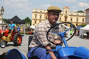 Slezské Versailles oživily traktory