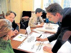 Lidé v Krnově mohli svými hlasy ovlivnit, co by bylo podle nich dobré ve městě udělat, čím se zabývat.