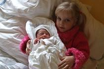 PATRIK JANOŠEC, narozen 16.3.2009, váha 2,50 kg, míra 43 cm, Dolní Povelice, maminka Lucie Janošcová, tatínek Jaroslav Moravec.