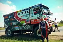 Třetí místo vyjel Martin Kolomý v první etapě Rallye Dakar se ztrátou pouhých 47 vteřin na vedoucího jezdce Staceyho z Holandska.