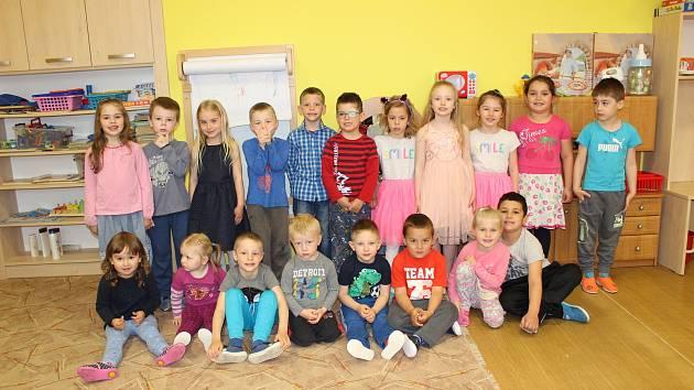 Děti v Mateřské škole v Miloticích nad Opavou.