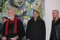 Pavel Forman ve svých dílech promítl originální počin svého dědy Karla Formana. Výsledky výtvarného spojení jsou k vidění v Galerii v Kapli.