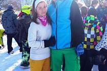 Patricie Kubičíková a Petr Výmola jsou výjimečně sportovně nadaným párem, a nejen to. Oba v sobě už dávno našli zalíbení i jako partneři.