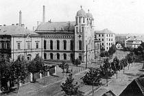 Synagoga na počátku 20. století.