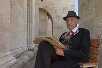 David Vávra se vydal do Rumunska hledat šumné stopy krnovského rodáka Karla Franze Benische (1822 až 1896). Krnovští archiváři zase hledali dokumenty o Benischově rodině. Foto:
