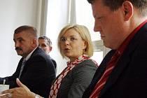 Ministryně spravedlnosti Daniela Kovářová navštívila bruntálský soud.