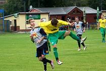 Rýmařovští fotbalisté si v sobotním utkání na vlastním hřišti s Ludgeřovicemi připsali po vítězství v poměru 2:1 plný bodový zisk a upevnili si pozici na čele tabulky.