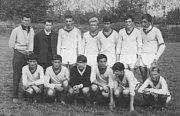 Fotbalisté TJ Krnov, krajský přebor, rok 1964 - 1965.