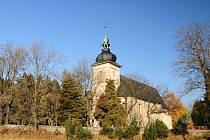 Kostel Neposkvrněného Početí Panny Marie ve Starém Městě u Bruntálu.