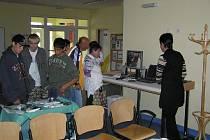 O návštěvu nemocnice byl mezi veřejností zájem.