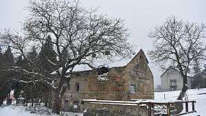 Rodný dům masového vraha Blažka.