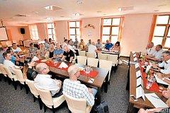 Krajští radní si tentokrát pro své výjezdní zasedání zvolili Bruntál. Setkali se zde s představiteli města a místních spolků.