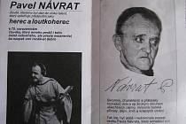 Pavel Návrat v dobách své divadelní slávy.