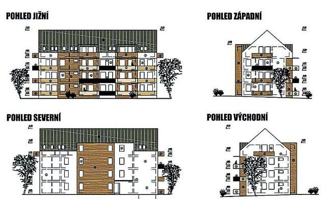 Nové domy pro seniory by měly stát během dvou let.