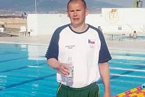 Krnovský plavec Michael Mrůzek mohl být v cíli závodu, italské Neapoli, spokojen.