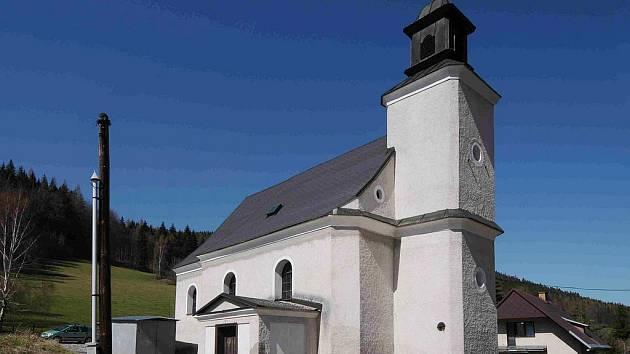 Kostel Navštívení Panny Marie v Ludvíkově pod Pradědem
