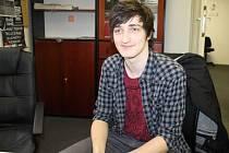 David Piňos je příjemným mladým mužem, který město Bruntál a celý Moravskoslezský kraj reprezentuje coby finalista soutěže Česko zpívá.