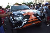 Velký zájem obyvatel Buenos Aires potvrdil, že nové místo pro startování rallye organizátoři vybrali dobře.