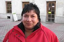 Julie Balážová, 26 let, Bruntál: Ne, mám strach, jednou mě málem  popálila petarda.