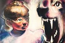 Obraz bruntálského rodáka Pavla Formana. Jeho díla jsou charakteristická vizuální bohatostí a téměř barevnou agresivitou.