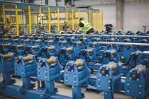 Představení nové výrobní haly společnosti Strojmetal Aluminium Forging z holdingu MTX Group, 30. září 2020. Zdroj: MTX Group