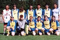 Krnovské fotbalistky letos obsadily sedmé místo v Moravskoslezské lize žen.